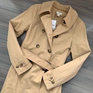 J. Crew Jackets & Coats - NWT J. Crew Trench Coat Size 00